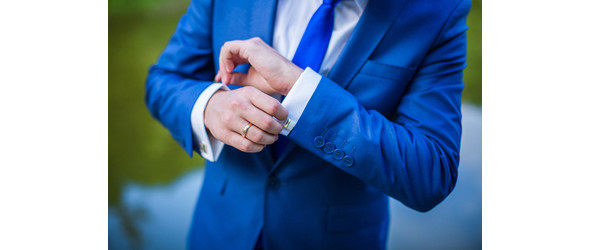 manschettknapp bröllop