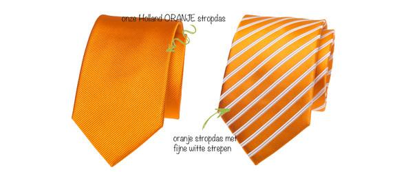 oranje stropdas 3