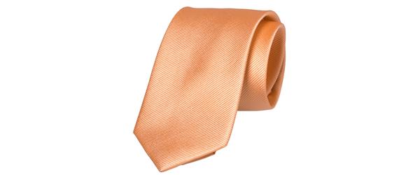 pfirsichfarbene Krawatte