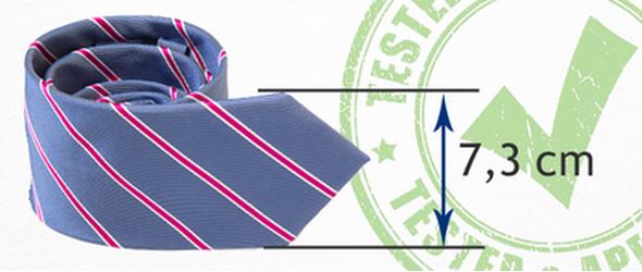 Breite Krawatte Plaatje