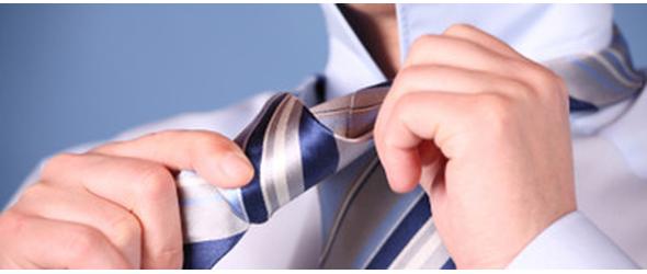 Hvordan binder jeg en slips Plaatje