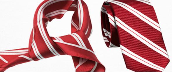 Krawatte und Tucher Plaatje
