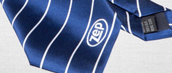 Krawatten mit Logo Plaatje