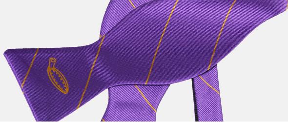 Herrenfliegen mit Logo Plaatje