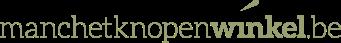 Manchetknopenwinkel.be Logo